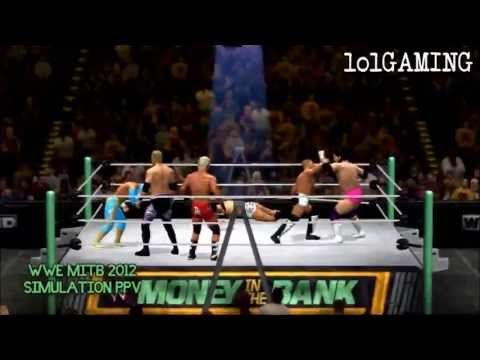 WWE Money In The Bank 2012 FULL PPV & Highlights (WWE 12 Machinima)
