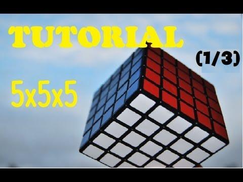 Como resolver el Cubo de Rubik 5x5x5 - Tutorial (1/3)