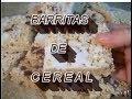 BARRITA DULCE  DE CEREAL - POSTRE CON BOMBON - lorenalara144