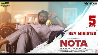 Hey Minister Promo || Nota