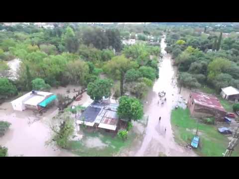 <b>Inundaciones.</b> La Paz desde un drone