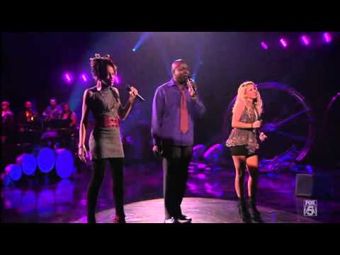 American Idol 2011 - Hollywood Week 4 - Jacob Lusk Haley Reinhart Naima Adedapo.avi