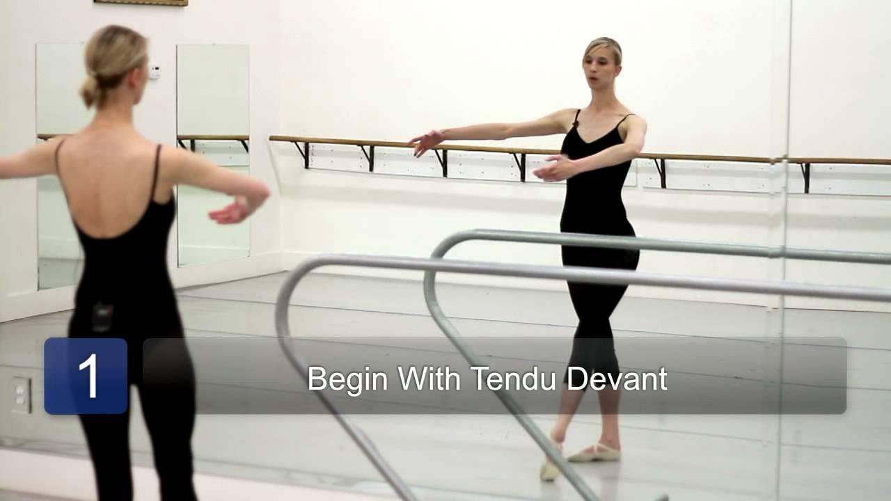 How to Do the Pique in Ballet Dancing : Ballet 101