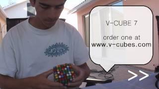 7x7 Cube - First Sub 10 Solve (9:44.22 min)