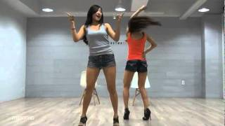 SISTAR19 - Ma Boy mirrored Dance Practice [Eng Sub] - YouTube