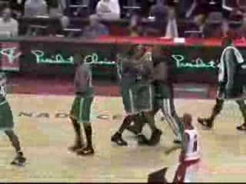 Ray Allen Game Winner vs. Raptors!