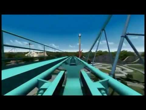 Leviathan Front Row 1080p POV - Canada's Wonderland - 2012