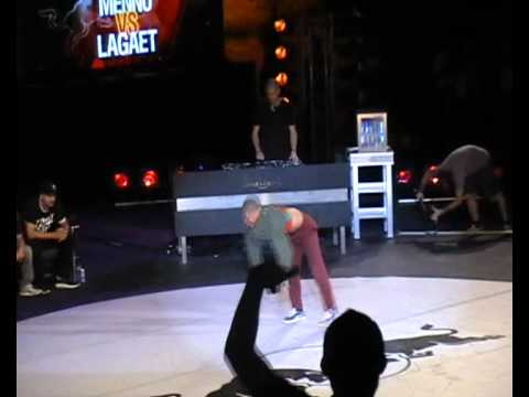 MENNO  VS LAGAET (FINAL) - Red Bull Bc One Europe 2011