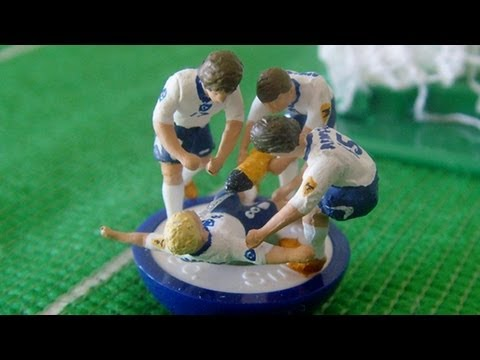 Iconic Football Moments Immortalised By Subbuteo Figures