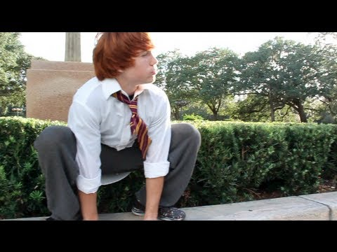 Ron Weasley Parkour & Freerunning (Ginger Fail)