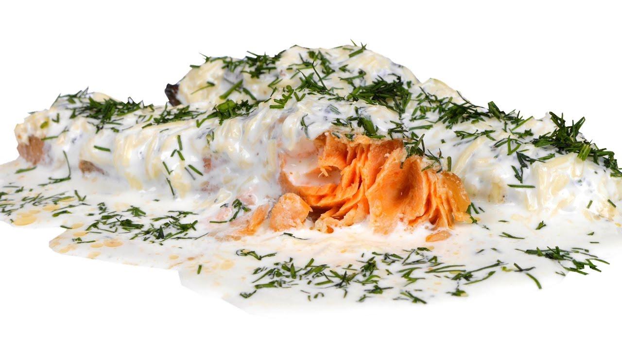 Рыба в сырном соусе рецепт