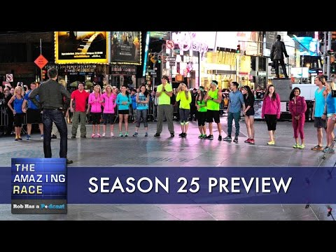 The Amazing Race 25 Cast Preview & Predictions Show