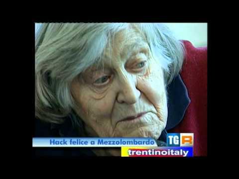 Margherita Hack a mezzolombardo (06/04/12)