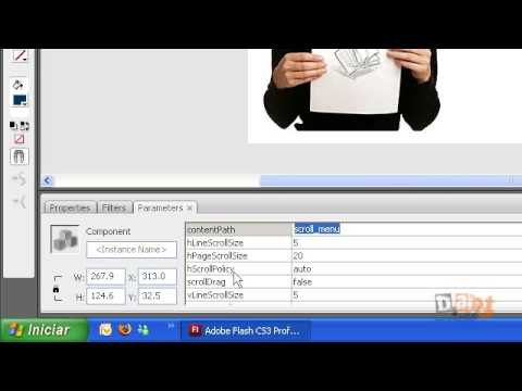 Tutotial Flash (ScrollPanel - Parte 2)