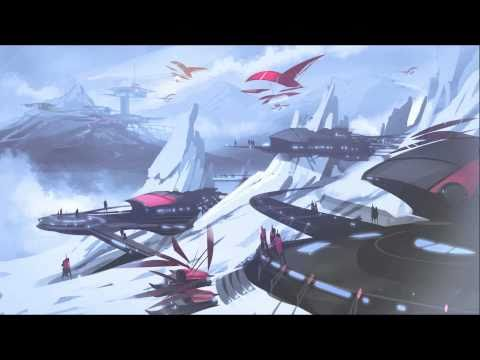 Concept Speed Sketch Painting - Snow Resort
