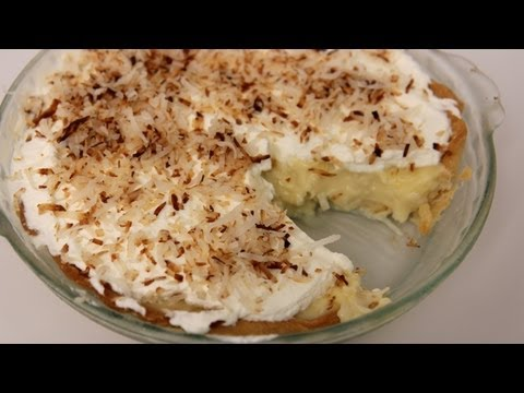 Coconut Cream Pie Recipe - Laura Vitale - Laura in the Kitchen Episode 447