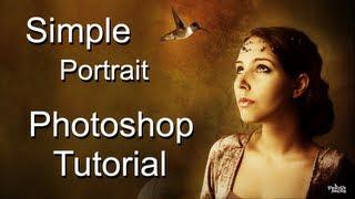 simple portrait ¦ photoshop cs6 tutorial