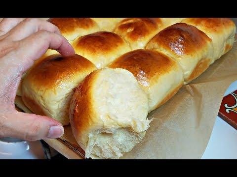 Soft Dinner Rolls Recipe   How to make Fluffy Rolls   Sweet Milk Rolls Recipe