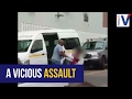 Woman appears to be assaulted & kidnapped.