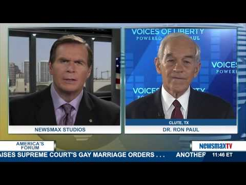 America's Forum | Dr. Ron Paul talks about the government's handling of the Ebola crisis | Part 2