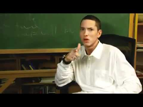"EMINEM GOES BACK TO HIGH SCHOOL ""Eminem, Where Have You Been?""  SHORT COMEDY FILM"