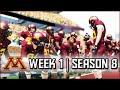 NCAA Football 14 Dynasty: Week 1 vs Eastern Michigan - Season 8