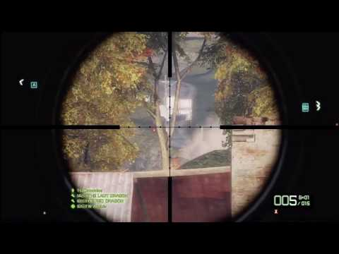 Battlefield Bad Company 2 Recon Kit Tutorial W / Commentary