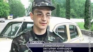 Житомирские ретро-автомобили времен Великой Отечественной войны