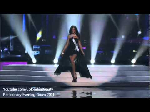 Miss Universe 2011 Preliminary Evening Gown Competition Presentation All