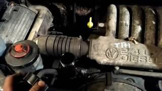 ДВС (Двигатель) в сборе Volkswagen Transporter 4 Артикул 50750825 - Видео