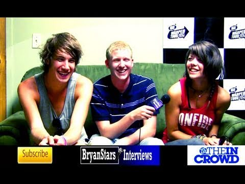 We Are The In Crowd Interview Taylor Jardine & Jordan Eckes Warped Tour 2010 -p5kN7RR7mJ8