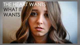 The Heart Wants What It Wants - Selena Gomez - Cover by Ali Brustofski (with lyrics) Music Video