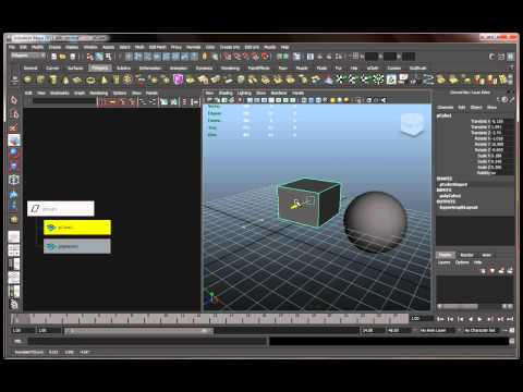 Autodesk Maya 2011 Basics Tutorial Part 2