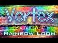 NEW Vortex RAINBOW LOOM Bracelet Tutorial
