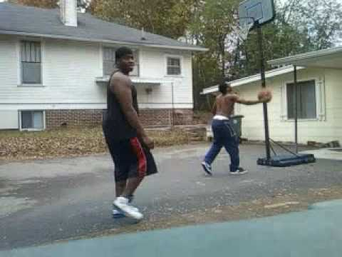 Waka Flocka Flames Soulja Boy and Gucci Mane Playing Basketball