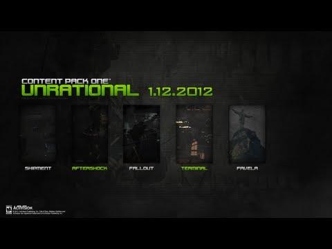 Modern Warfare 3 - First DLC Nostalgic NEW Map Pack MW3