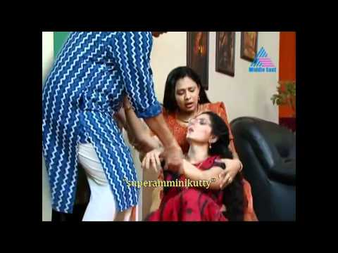 malayalam serial actress saree slip from &quot;superamminikutty&quot;
