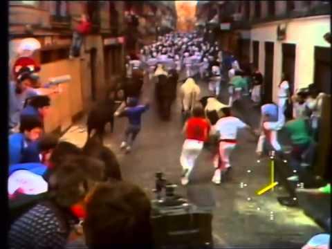 Encierro San Fermín   11 de julio de 1990 480p