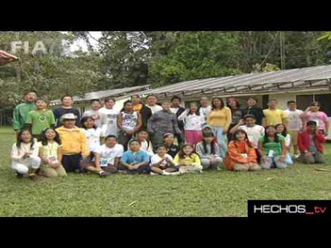 """Viaje de los Niños Ganadores del V Concurso de Dibujo """"Que Viva La Selva Lacandona"""""""