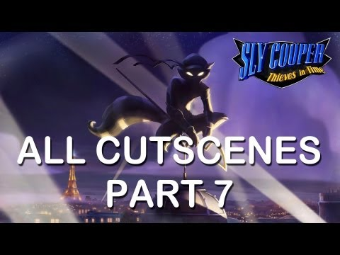 "Sly Cooper Thieves in time All cutscenes part 7 PS3 PS Vita HD ""sly cooper 4 all cutscenes"""