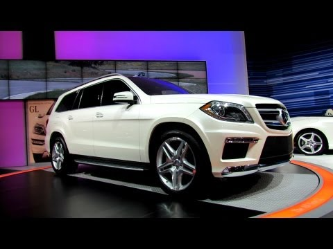2013 Mercedes-Benz GL550 - Debut at 2012 New York International Auto Show NYIAS