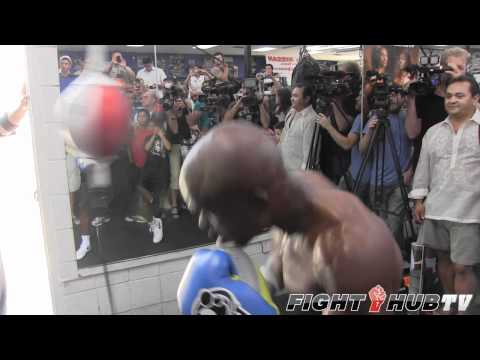 Manny Pacquiao vs. Timothy Bradley: Bradley prepares for Pacquiao