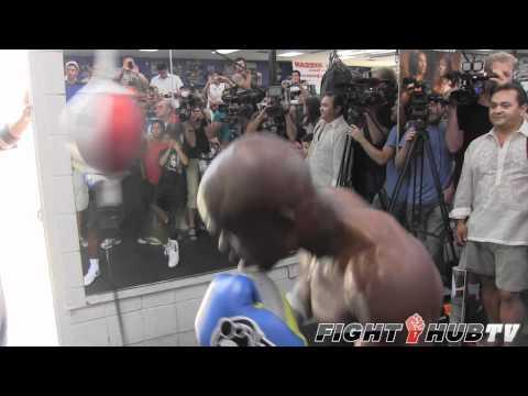 Manny Pacquiao vs. Timothy Bradley: Bradley prepares for Pacquiao