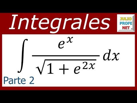 Integral por Sustitución Trigonométrica (Parte 2 de 2)