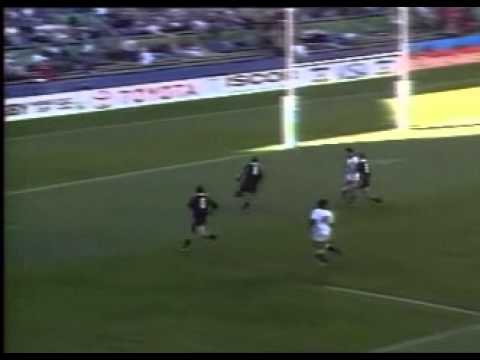 Jonah Lomu Try  vs England