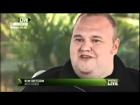 Kim Dotcom Exclusive Interview