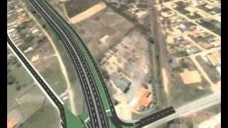 Projeto da Rodovia Federal BR-101 em Laguna - Ponte de Laguna
