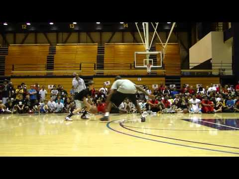 KOBE vs WHITE MAMBA KID - ONE ON ONE at THE KOBE CAMP 2011