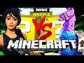 Minecraft fortnite lucky block challenge battle royale for Modern house fortnite