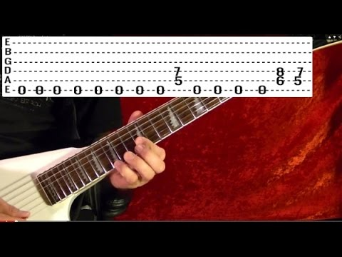 Guitar Lesson: POWER CHORDS ( Heavy Metal )